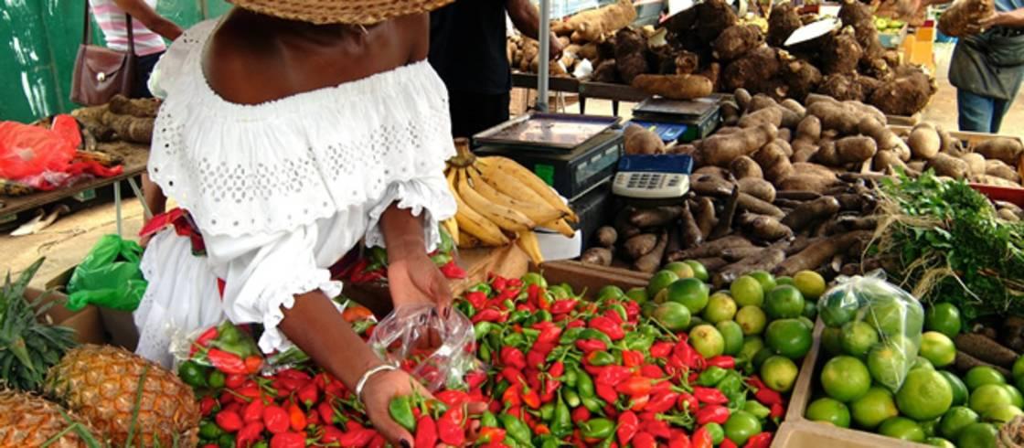 Marigot Market St Martin