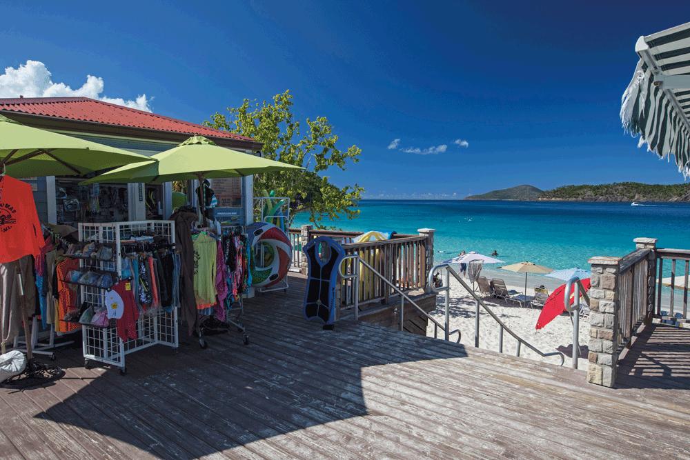 Coki Beach St Thomas US Virgin Islands