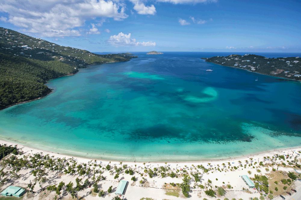Magens Bay St Thomas US Virgin Islands