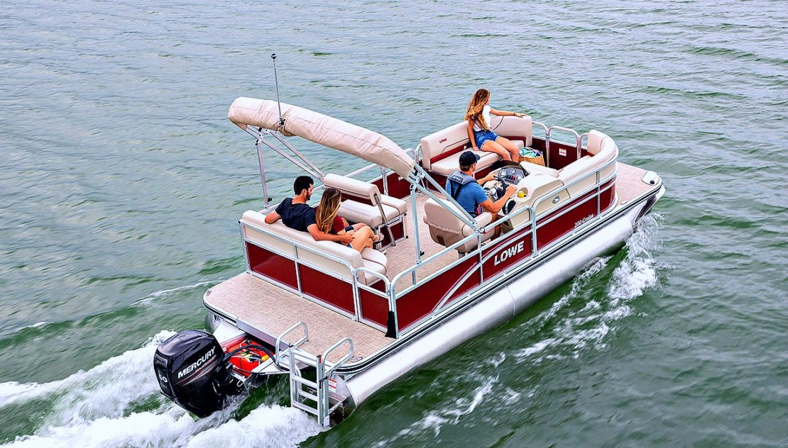 Boat hire Bermuda - Pontoon