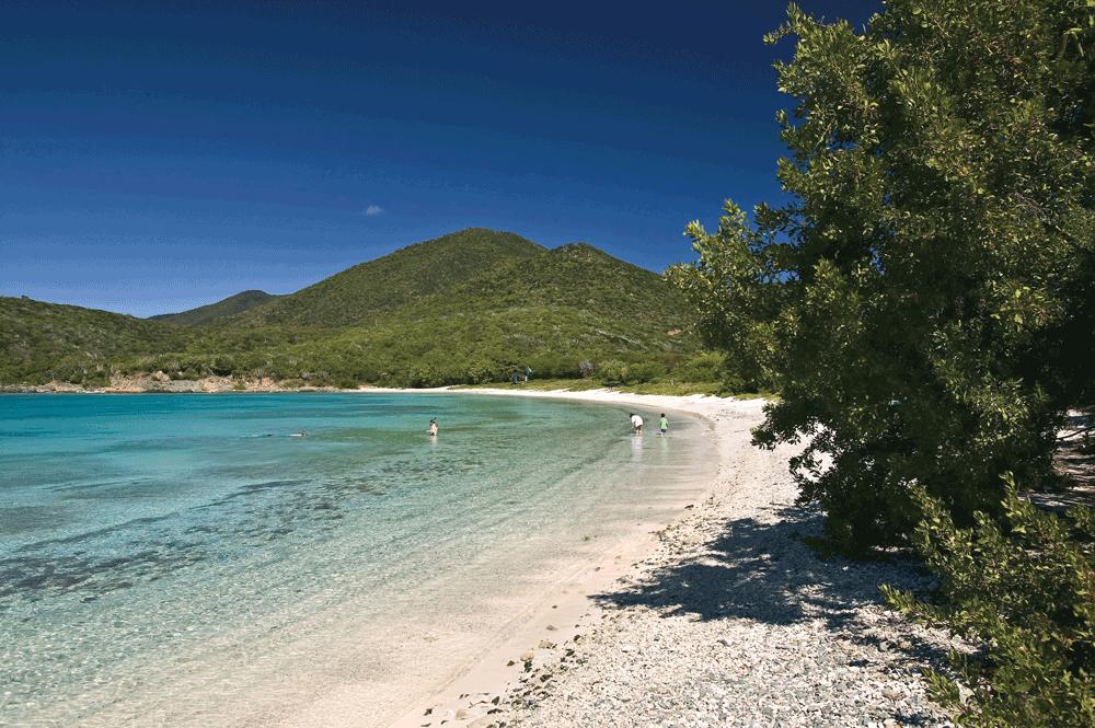 Salt Pond Bay St John US Virgin Islands