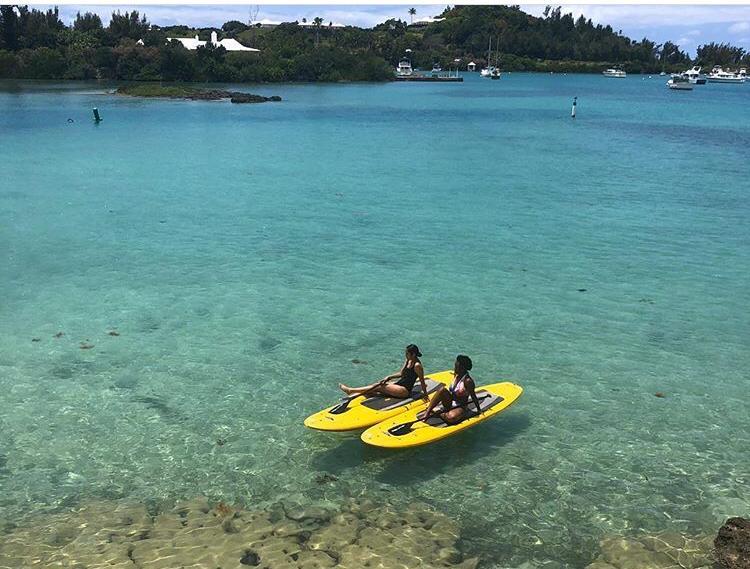 paddle boarding Bermuda