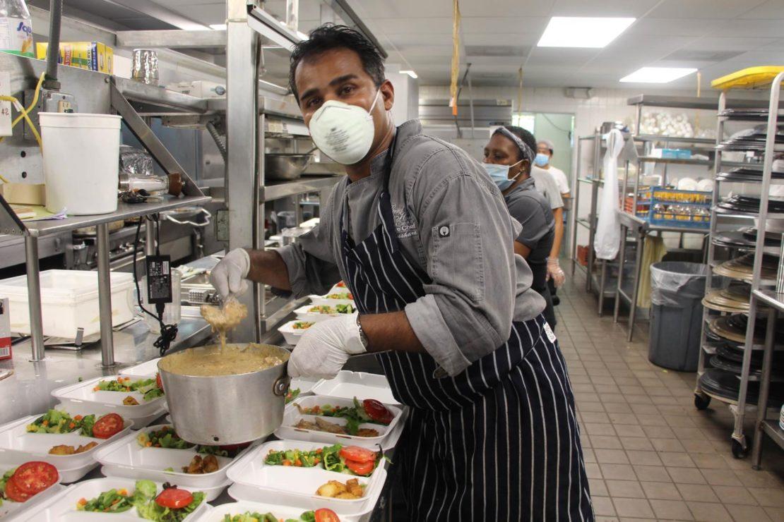Chef Thushara of Grand Old House