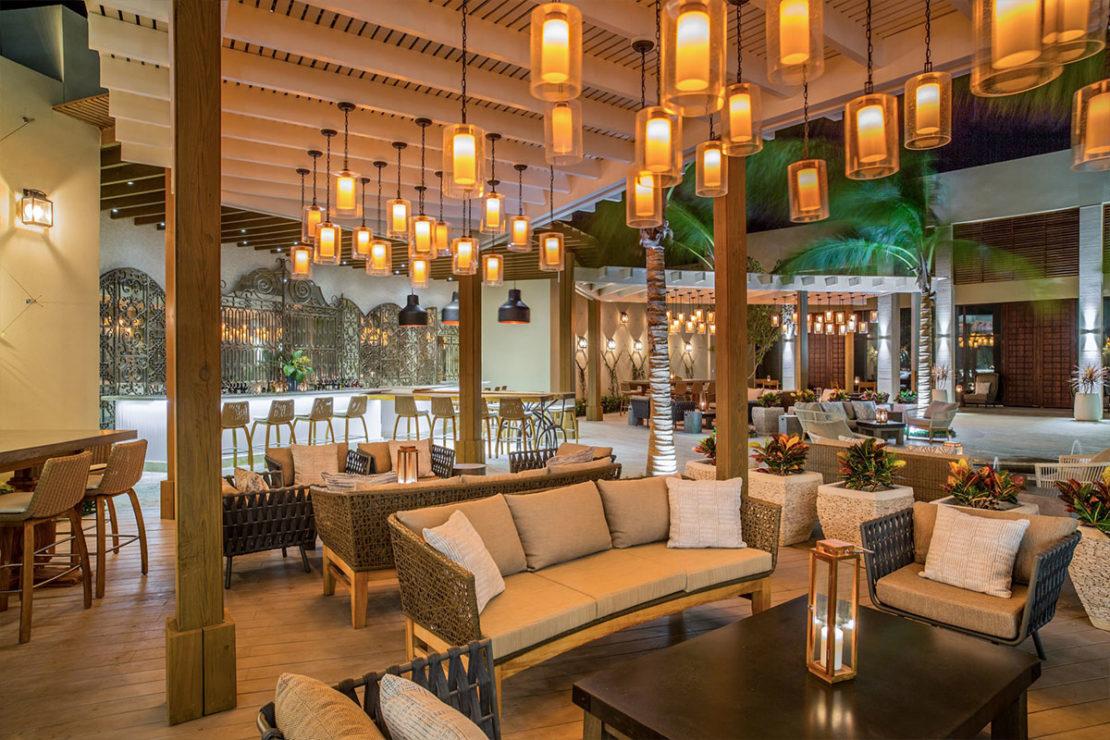 SUI-REN restaurant The Shore Club Long Bay Beach, Turks and Caicos