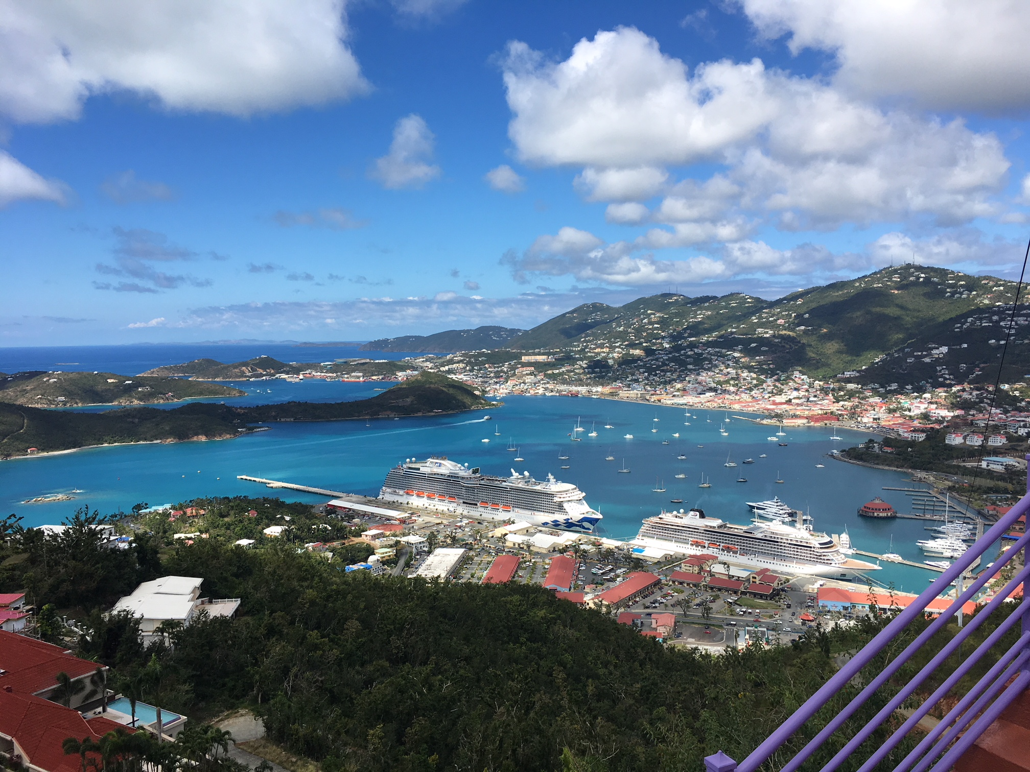 Paradise Point St Thomas | places to visit in the U.S. Virgin Islands