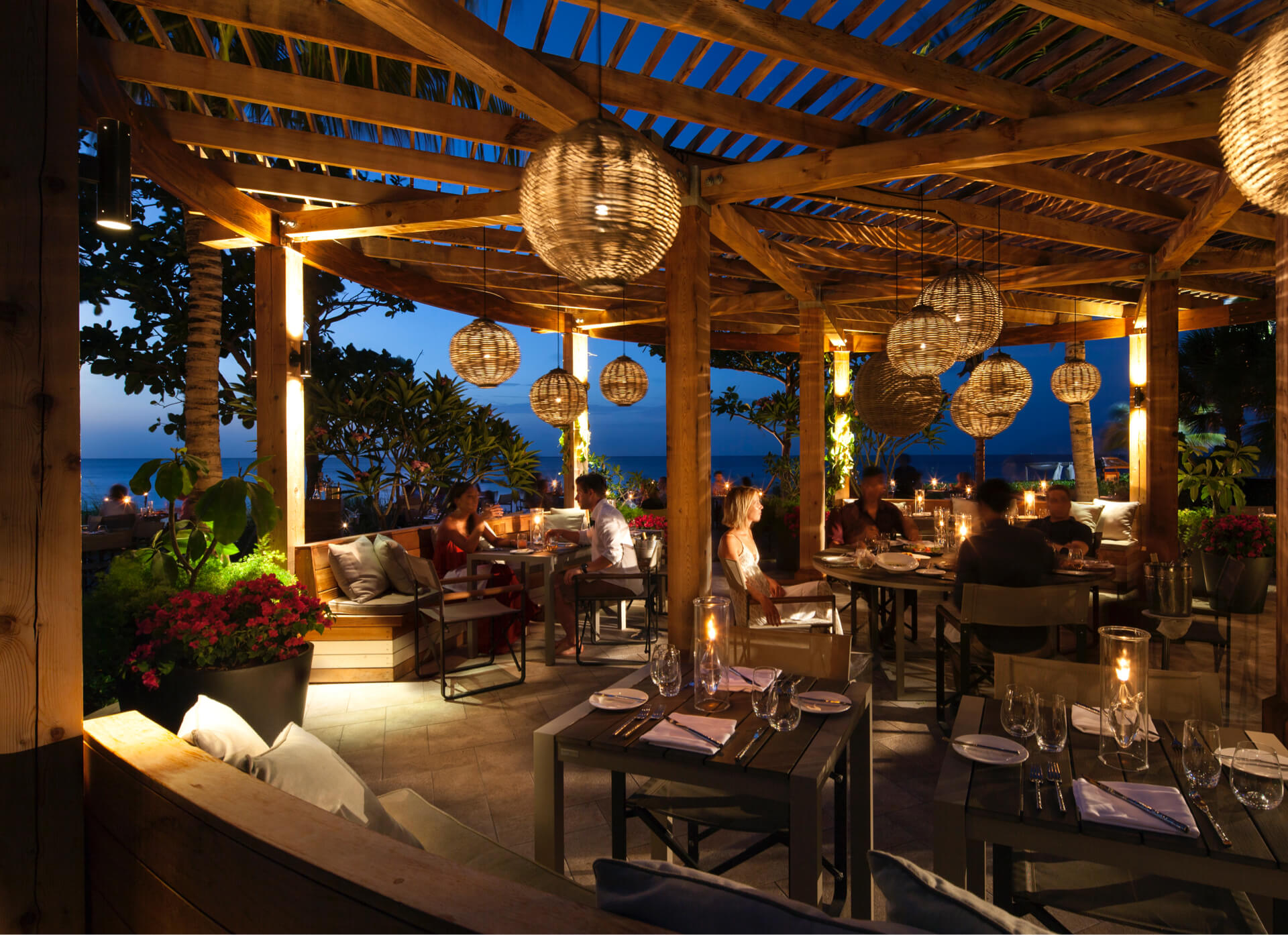 The Restaurants of Grace Bay Club