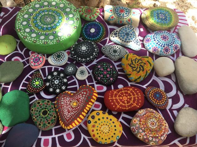 Mandala Painting class Cayman Brac