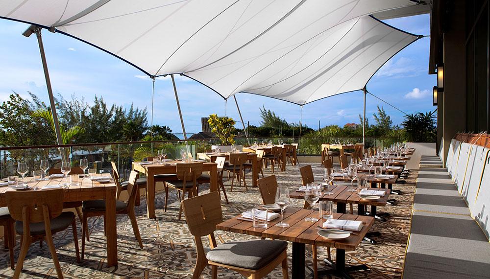 Ave restaurant Kimpton Seafire Cayman