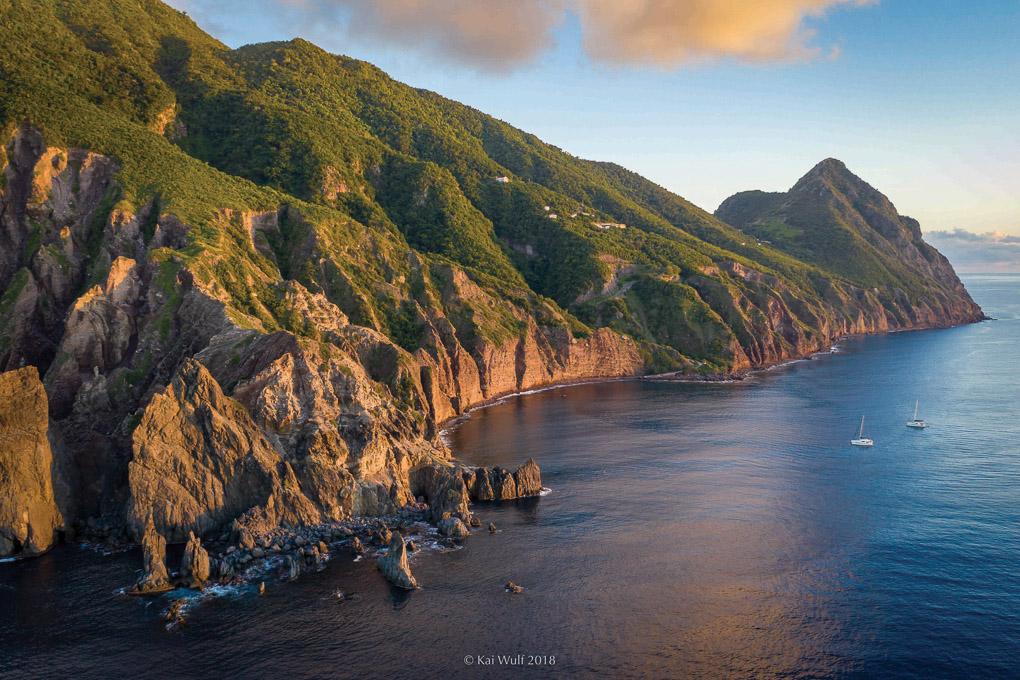 Saba Caribbean Island