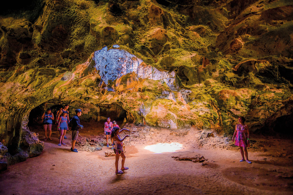 Things to do in Aruba Indian Caves
