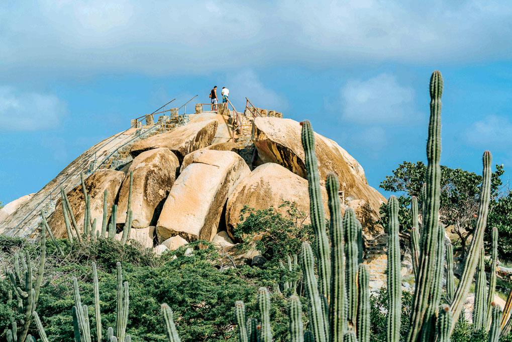 Things to do in Aruba Casibari Rock Formation