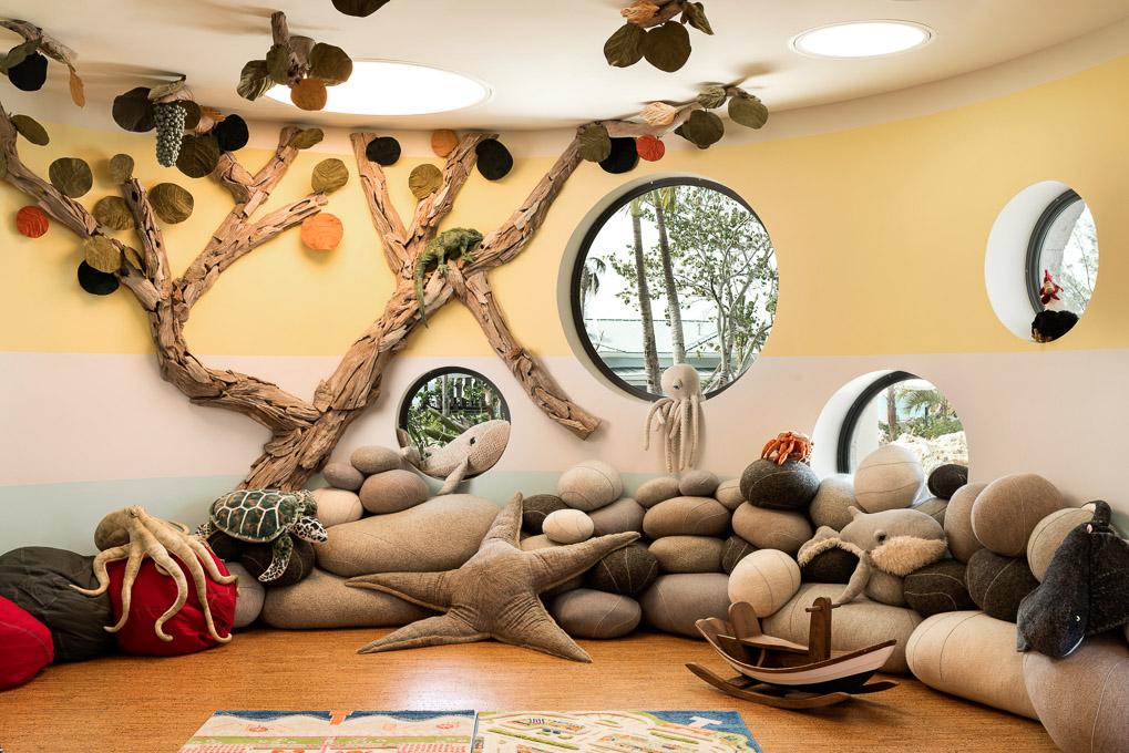 kids club Kimpton Seafire Resort + Spa