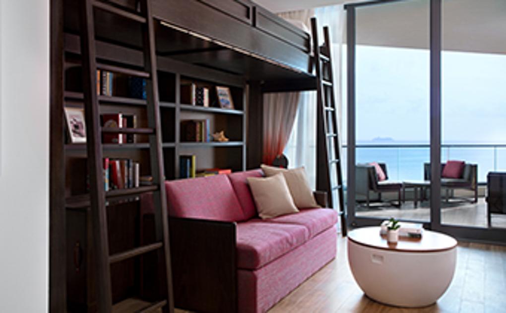 family suite at Kimpton Seafire Resort + Spa
