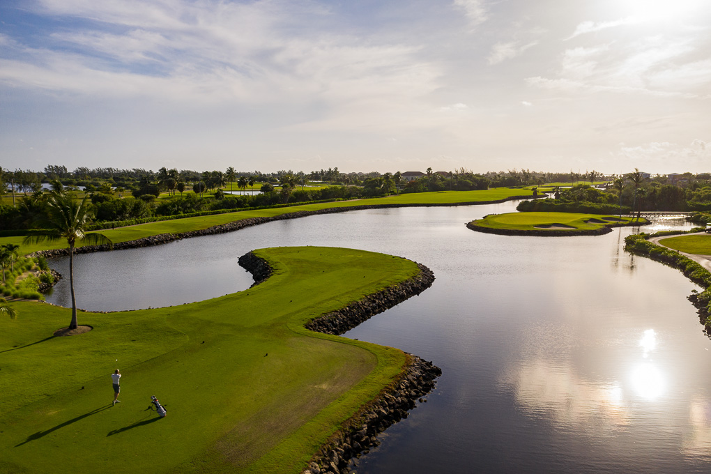 Golf course The Ritz-Carlton, Grand Cayman