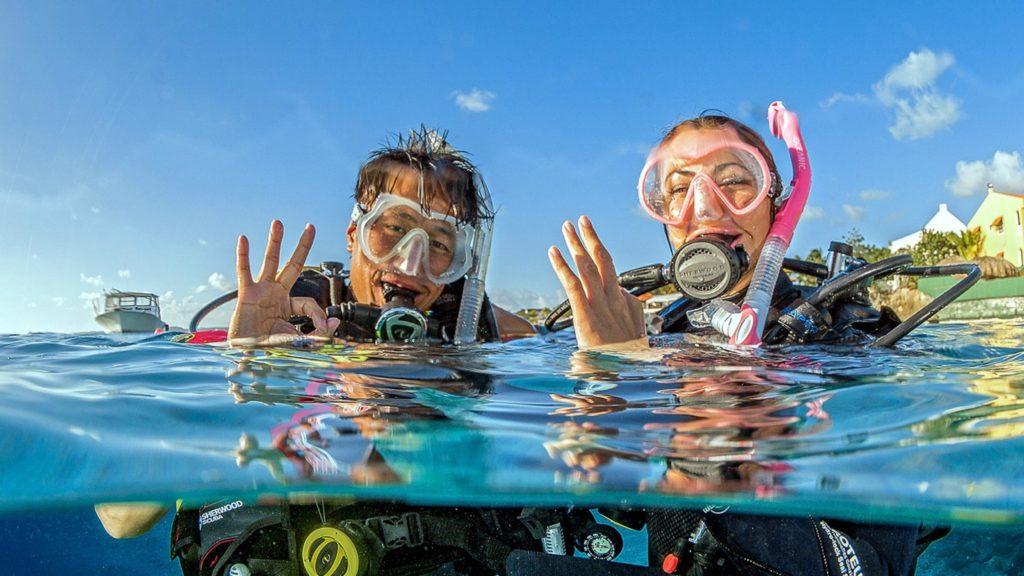 Diving St Maarten