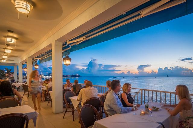 The Patio at Le Vele Grand Cayman