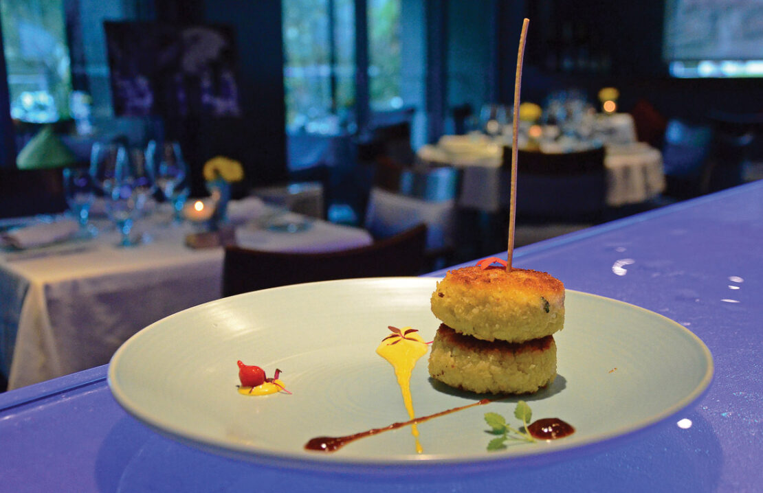 Blue Cilantro, top dining in Grand Cayman
