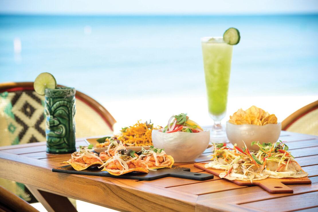 The Kimpton Seafire Coccoloba Taco y Tequila