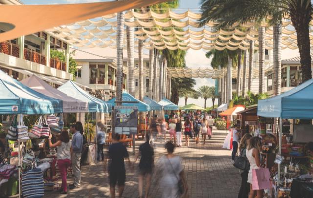 Market at Camana Bay